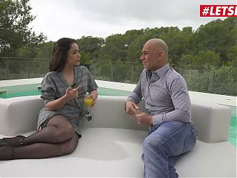 HER LIMIT - First Outdoor Anal Sex For Teen Latina Ginebra