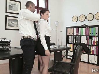 Hot and Sexy Valentina Nappi Fucked by Office Boss