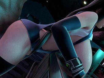 tifa huge boobs fucked by a huge dick